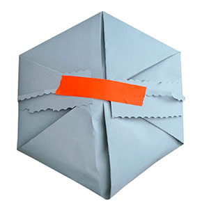 origata hexagonal packages