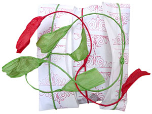 gift wrapping : : stamped paper