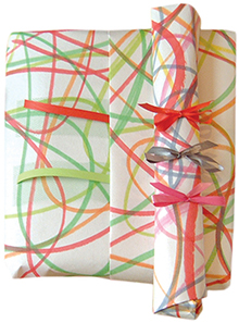 wrapping paper : : scribble