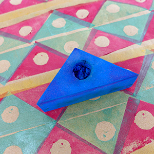 triangle-Foam-stamp